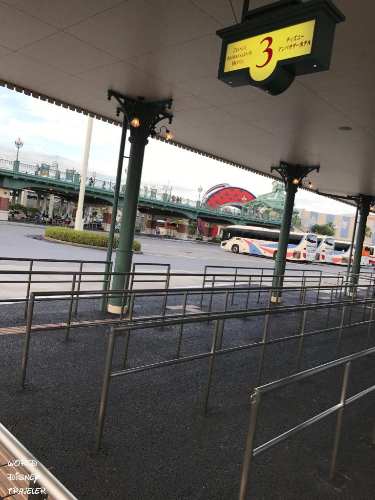 シャトルバスの時刻表変更 / ディズニーアンバサダーホテル